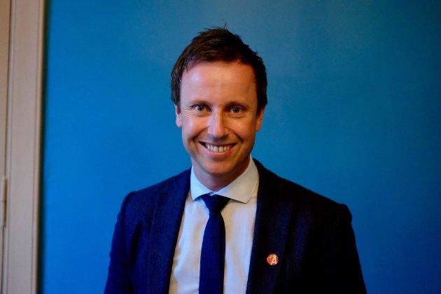Gard Sandaker-Nielsen, leder i Åpen folkekirke