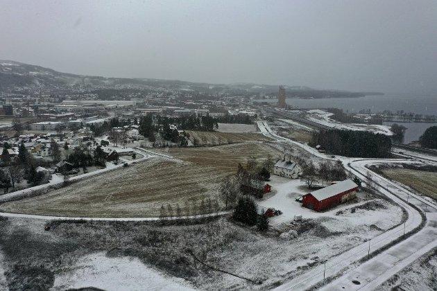 Brumunddal: En analyse visert at Brumunddal er den best egnede byen for det nye Mjøssykehuset.