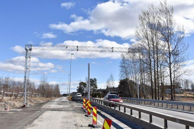 Behandles denne uka: Bom på  Bergshøgda i Furnesvegen skal opp i fylkestinget denne uka. .