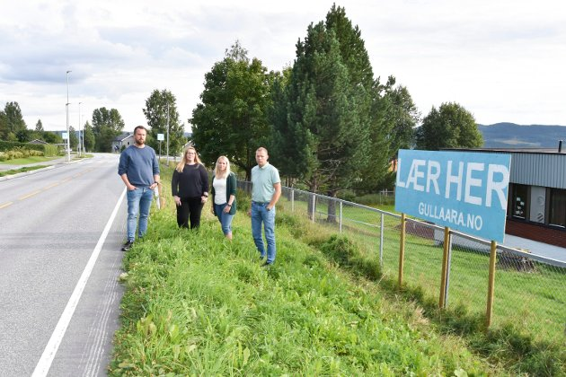 KAMP FOR SKOLENE: Kim Marius Heen, Elisabeth Buen, Vivi Jansen og Knut Tolvstad er blant dem som har kjempet hardt for å beholde skolene I Nordre Ringsaker.