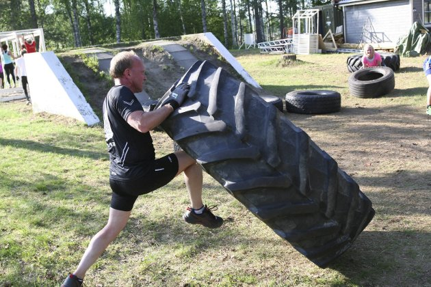 Boot Camp på Helgelandsmoen.