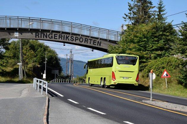 Bussen til og fra Oslo går ikke lenger om Utstranda.