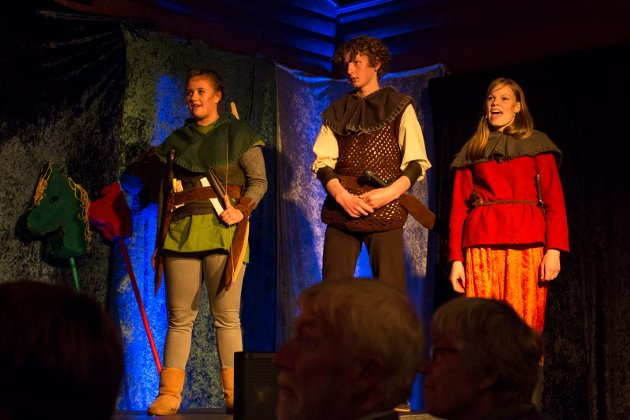 Venner: Robin Hood og vennene.