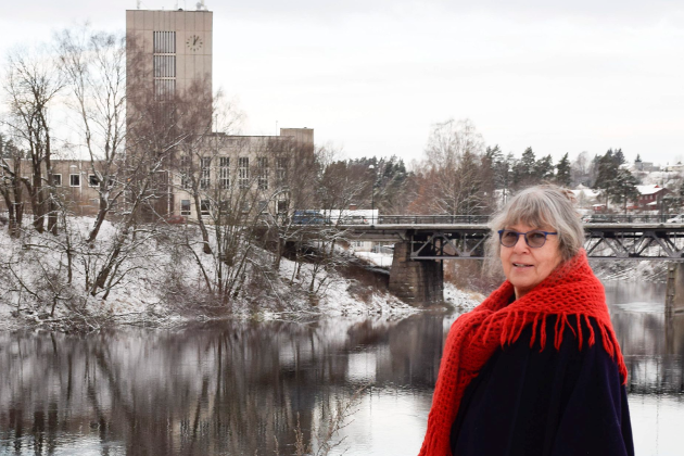Grete Dæhlen, leksehjelp for enslige mindreårige flyktninger i Ringerike.