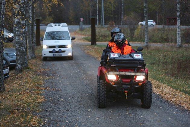 FRIVILLIG: Røde Kors har mannskaper på plass.
