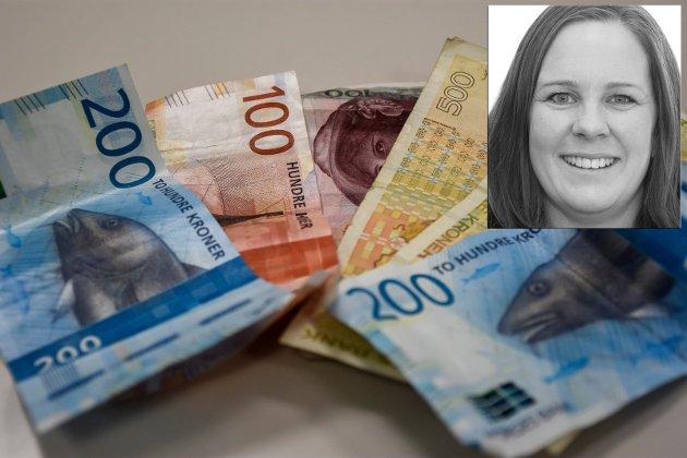 Jo da, journalist Mari Persson fikk igjen penger på skatten. Men ikke nok med det!