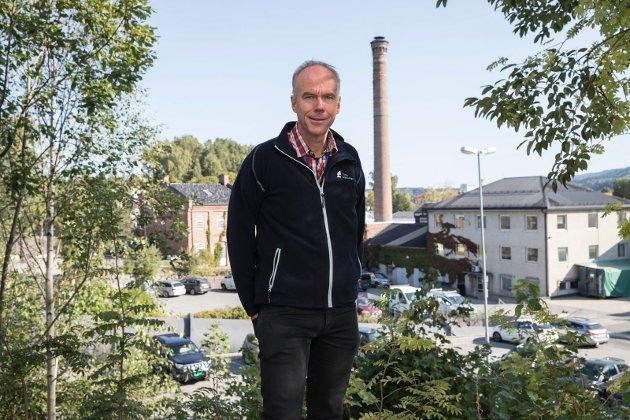 Vekstbarometer: Steinar Aasnæss.