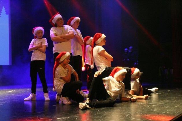 JUL HOP: Hip hop lot seg kombinere med jul.