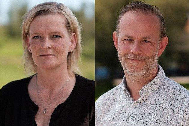 NYTT FYLKE: – Arbeiderpartiet vil videreføre og ta vare på det som fungerer godt i Buskerud, Akershus og Østfold, og sammen bygge det nye fylket, sier Anne Sandum og Mons-Ivar Mjelde (Ap).