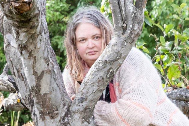 POLSKAM: Mari Johnsen Viksengen, tidligere polansatt, nå journalist i Ringerikes Blad.