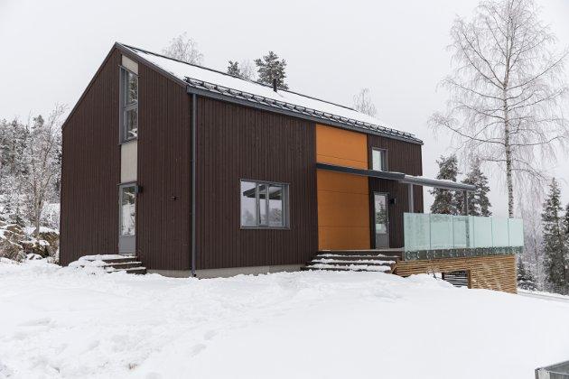 GRENDA: Byggmester Jan Ole Jørgensen har bygget en av to boliger i Åsa.
