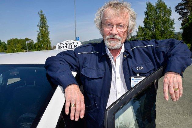 2018: Vidar Gullheim i Jevnaker taxi uttalte seg om kjøring med pirattaxi.