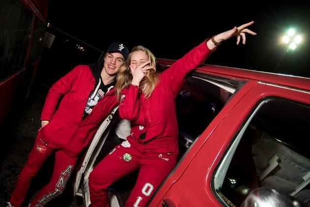 Anders Lappegård og Anne-Viktoria Strømsvik Olsen. Foto: Vidar Sandnes