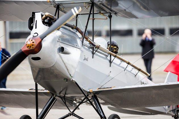 2017.05.10. Kjeller. Småflyhavna. DH-60 Moth