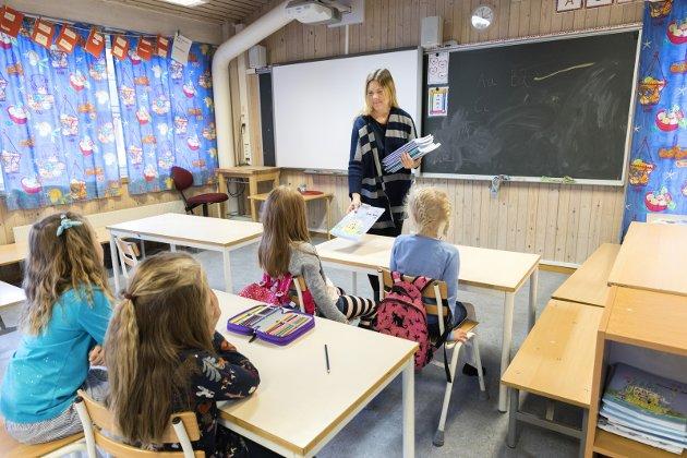 Likt pensum: Dagens skole skaper skoletapere, skriver innsenderen. Illustrasjonsfoto: NTB scanpix