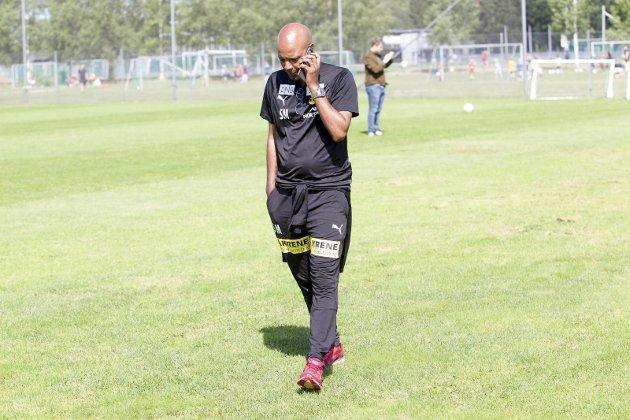 Må på jakt: Sportssjef Simon Mesfin i LSK har nå helt klare kriterier for hva slags trenertype han skal se etter. Foto: Lisbeth Lund Andresen
