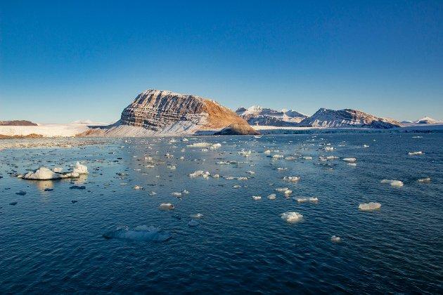 Dokumentasjon i debatten: Påpek konkret hva du finner tvilsomt med regnestykket som viser 64 meters havstigning hvis all is smelter. Eller innrøm at du tar feil, skriver innsenderen som svar på en rekke leserinnlegg fra Magne Fjellstad. Illustrasjonsfoto: NTB scanpix