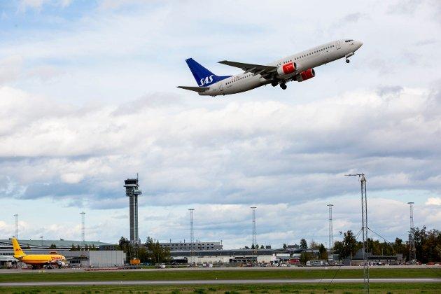 Varig nedgang i flytrafikken, spår Magne Storedal.