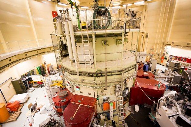 JEEP II: Reaktoren på Ife på Kjeller.