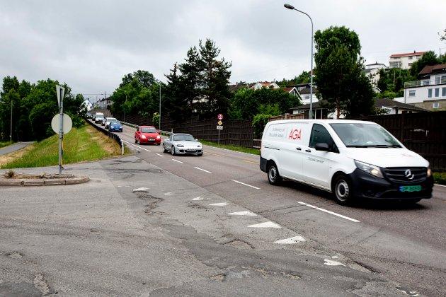 Haster: Kollektivfelt er naturligvis et tiltak som vil kunne bidra til bedre flyt, men vi må også finne tiltak som hjelper oss nå, skriver innsenderen fra Rælingen Venstre om trafikkproblemene på blant annet fylkesvei 120.