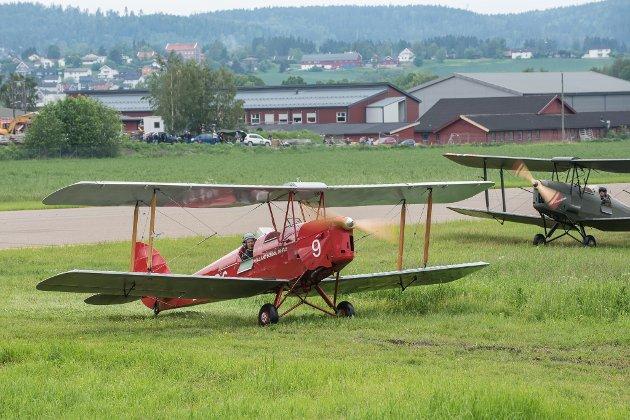 Flydagen 2019. Kjeller flyplass.