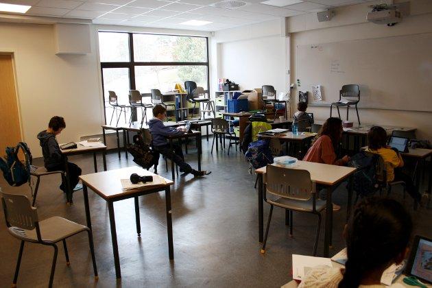 LEI: Korona-tiltakene gjør innsender lei, også av jobben som lærer