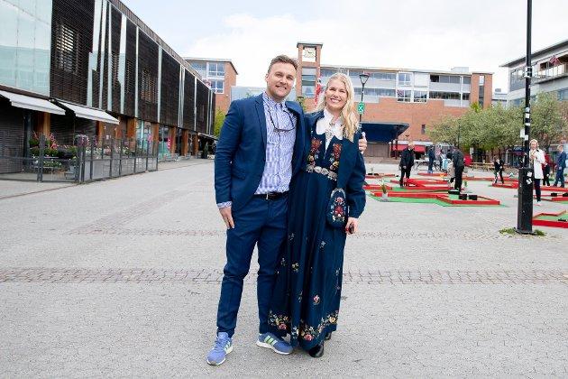 Marius Helland og Betina Ådum