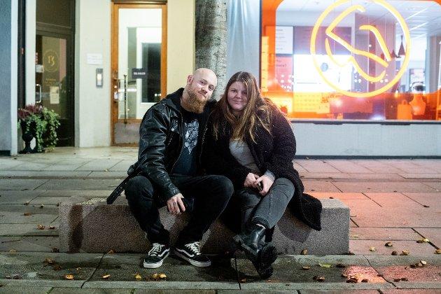 Sondre Søbyskogen og Sandra Tajet