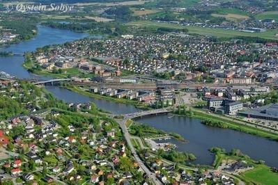 Kultur- og bylandskap i Lillestrøm