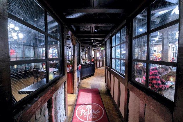 Peppes i Lillestrøm framstår som en hyggelig restaurant og maten de serverer er det heller ikke mye å utsette på.
