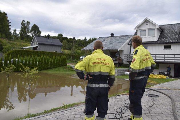 HAR EN PLAN: Røyken kommune skal presentere en flomplan for politikerne i løpet av høsten.