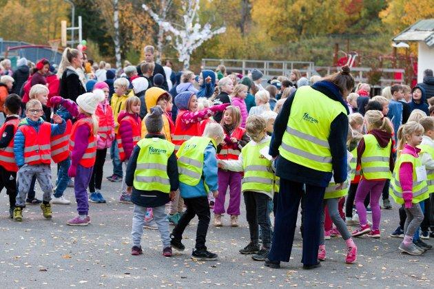 Sætre skole satser på Skoleløpet for å samle inn penger til TV-Askjonen. Ungene løper alt hva de kan runde for runde. I 2017 samlet de inn 60 000 kroner.