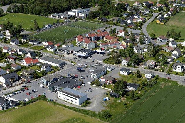 Haukerød: Området har minst 14 fordeler når det gjelder plassering av nytt sykehjem, skriver Arne Haugen. Foto: Olaf Akselsen