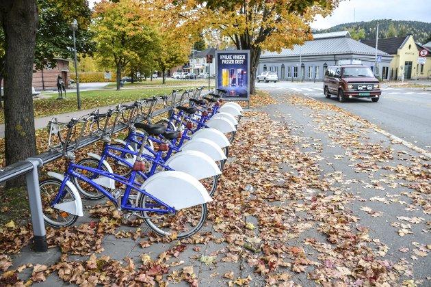 Bysykler i Drammen: Slik kan vi få det i Sandefjord også - for nå har politikerne vedtatt å innføre ordningen. Foto: Paal Even Nygaard
