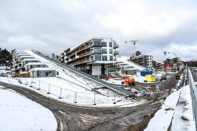 BRUNSTAD: Oslofjord Convention Center får til sammen 16 hotellbygg.