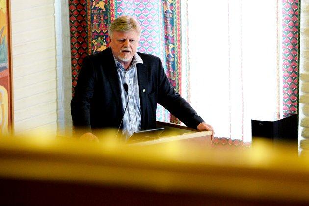 Bent Moldvær (FrP), fungerende ordfører i Tønsberg.