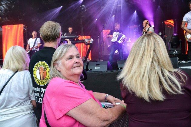 Astrid Olaussen (69) er på sin 165 DDE-konsert.