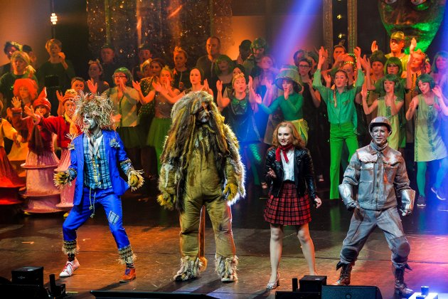 The Wiz med premiere på Hjertnes Kulturhus.