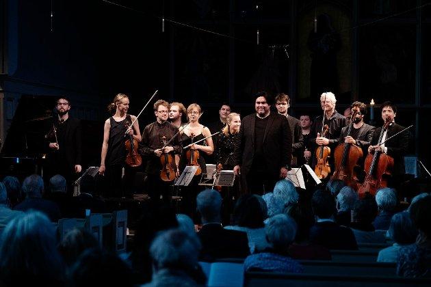 Yngve Søberg med Fjord Classics orkesteret 2019