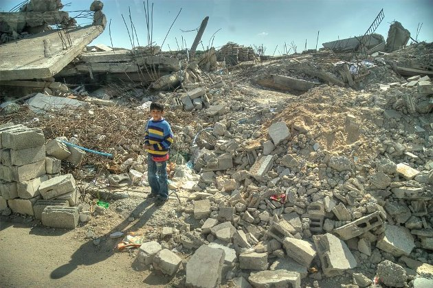 Slik så Gaza ut etter Israels bombing i 2009. Denne gangen kan det bli verre. Hva gjør Norge?, spør Ole marcus Mærøe i Rødt.