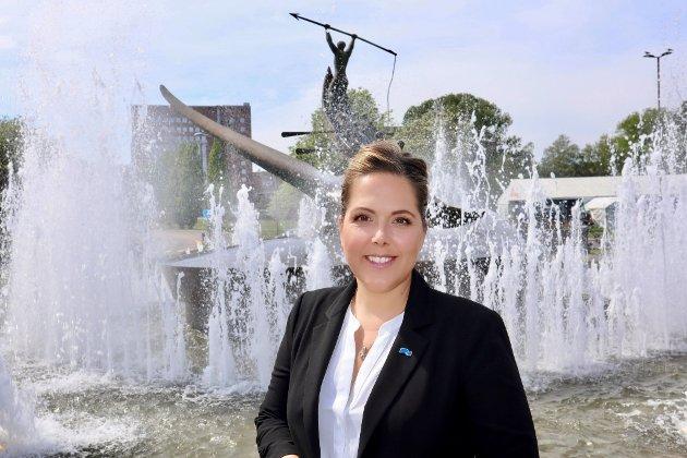 Stortingsrepresentant  Lene Westgaard-Halle i Sandefjord