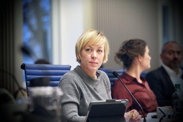 OLJESTOLT: Fylkesordfører Marianne Chesak (Ap).