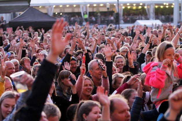 Blinkfestivalen, slik folk kjenner den er avlyst.  Her fra konserten med DDE.