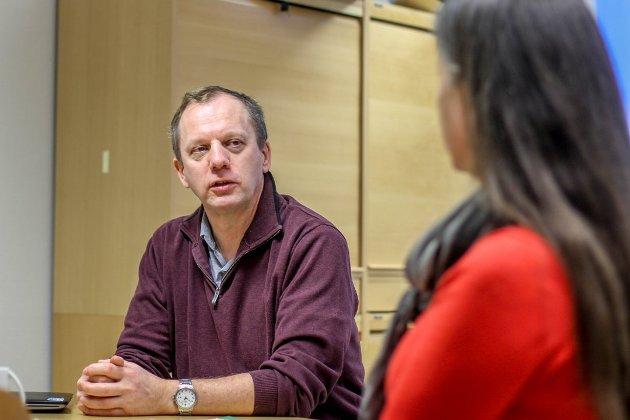 GLEDE: Trond Niemi, kommunestyremedlem for KrF, er svært glad for nyvinningen i Sandnes. Foto: Gjesdalbuen