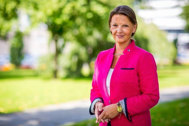 Ingjerd Schou, stortingsrepresentant for Østfold Høyre. (Foto: Thomas Andersen)