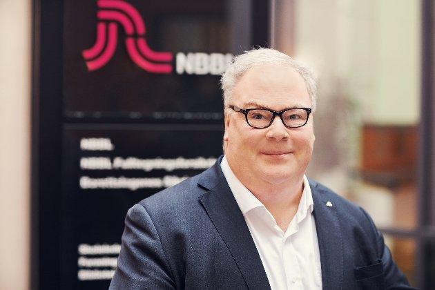 Bård Folke Fredriksen, administrerende direktør i Norske Boligbyggelags Landsforbund (NBBL). (Foto: Nadia Frantsen)