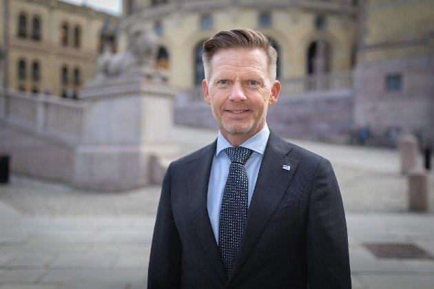 Tage Pettersen, stortingsrepresentant for Østfold Høyre. (Foto: Hans Kristian Thorbjørnsen)