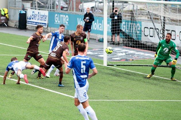 SKUFFET: Ole Werner Mathisen er utrolig skuffet over Sarpsborg 08s innsats i Mjøndalen.