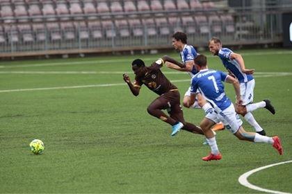 Kampen mellom Mjøndalen og Sarpsborg 08 på Consto arena i Mjøndalen lørdag kveld endte med hjemmeseier.. - 1-0.