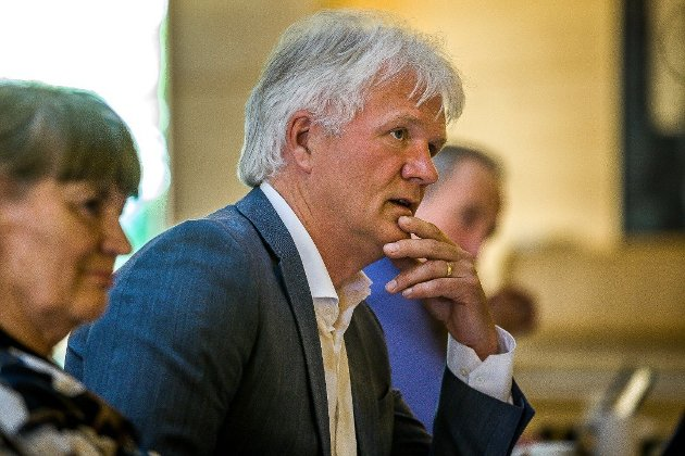 Svein Larsen, gruppeleder i Sarpsborg Arbeiderparti. (Foto: Johnny Helgesen)